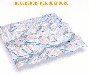 3d view of Allersdorf bei Judenburg