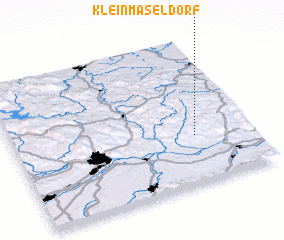 3d view of Kleinmaseldorf