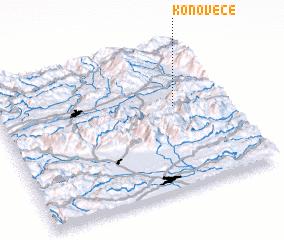 3d view of Konovece