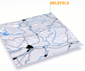 3d view of Waldfeld
