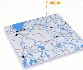 3d view of Björka