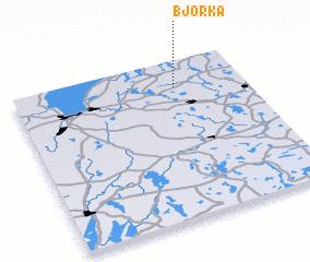 3d view of Björka