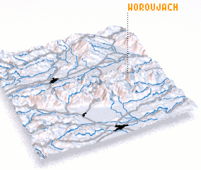 3d view of Woroujach