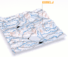 3d view of Komelj