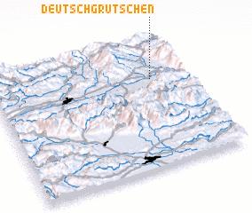3d view of Deutsch-Grutschen