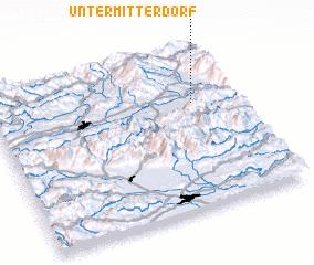 3d view of Untermitterdorf