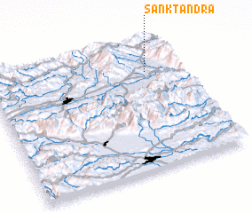 3d view of Sankt Andrä