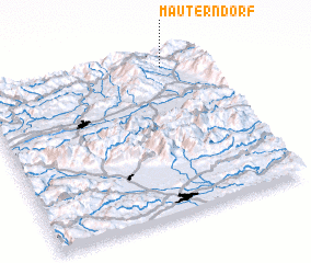 3d view of Mauterndorf