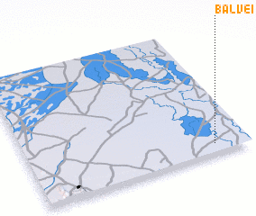 3d view of Balveï