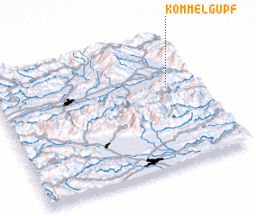 3d view of Kömmelgupf