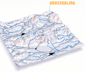 3d view of Großedling