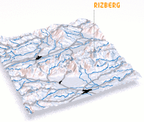 3d view of Rižberg