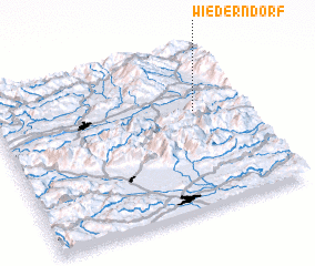 3d view of Wiederndorf