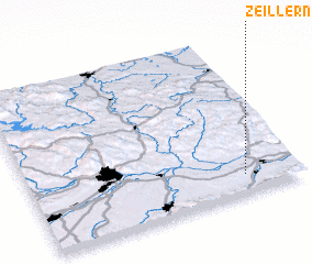 3d view of Zeillern