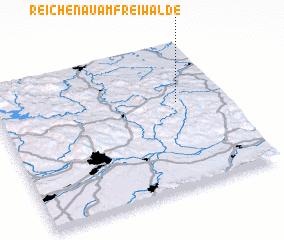 3d view of Reichenau am Freiwalde