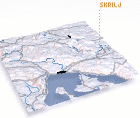 3d view of Škrilj