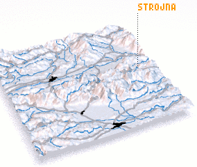 3d view of Strojna