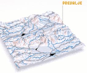 3d view of Prevalje