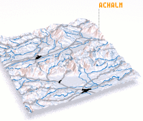 3d view of Achalm