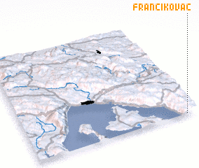3d view of Francikovac