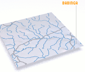 3d view of Babinga