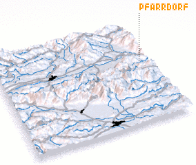 3d view of Pfarrdorf