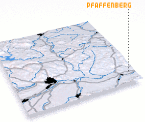 3d view of Pfaffenberg