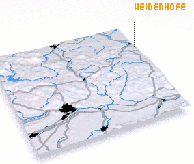 3d view of Weidenhöfe