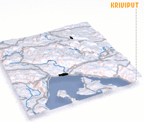 3d view of Krivi Put