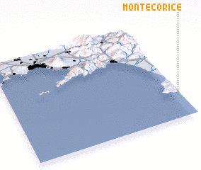3d view of Montecorice