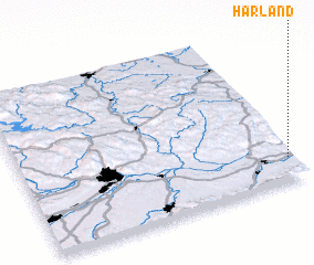 3d view of Harland
