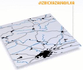 3d view of Jizbická Zavadilka