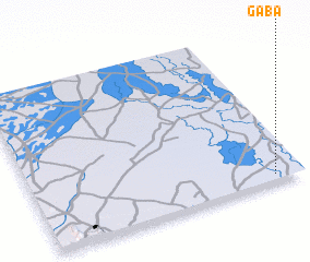 3d view of Gaba
