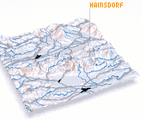 3d view of Hainsdorf