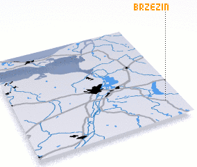 3d view of Brzezin
