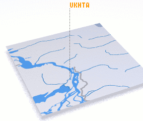 3d view of Ukhta