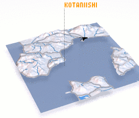 3d view of Kotaniishi