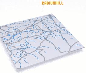 3d view of Radium Hill