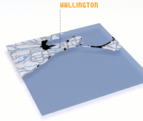 3d view of Wallington
