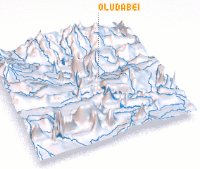 3d view of Oludabei