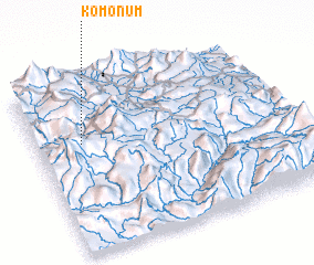 3d view of Komonum