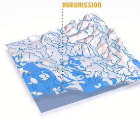 3d view of Muro Mission