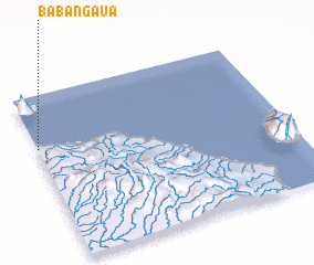3d view of Babangaua