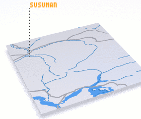3d view of Susuman