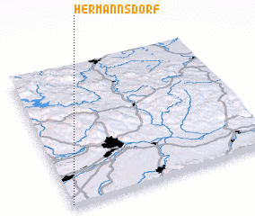 3d view of Hermannsdorf