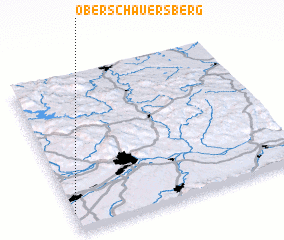 3d view of Oberschauersberg