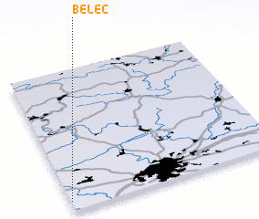 3d view of Běleč