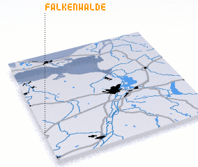 3d view of Falkenwalde
