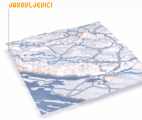 3d view of Jakovljevići