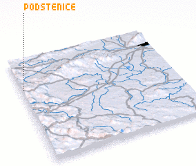 3d view of Podstenice